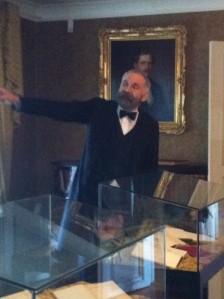 Peter Sundh som Alfred Nobel